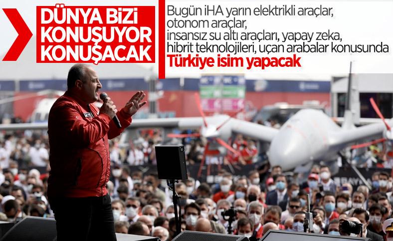 Mustafa Varank: Herkes uçan arabamızı konuşacak