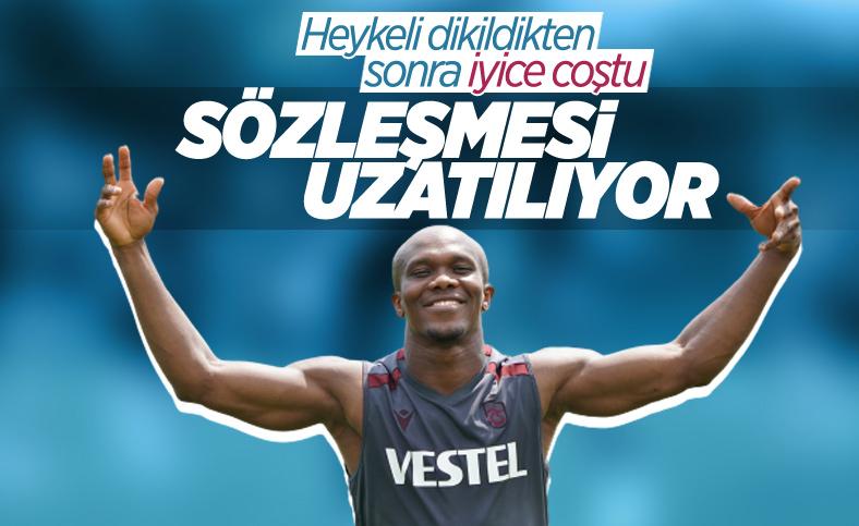 Trabzonspor'da Nwakaeme için yeni sözleşme