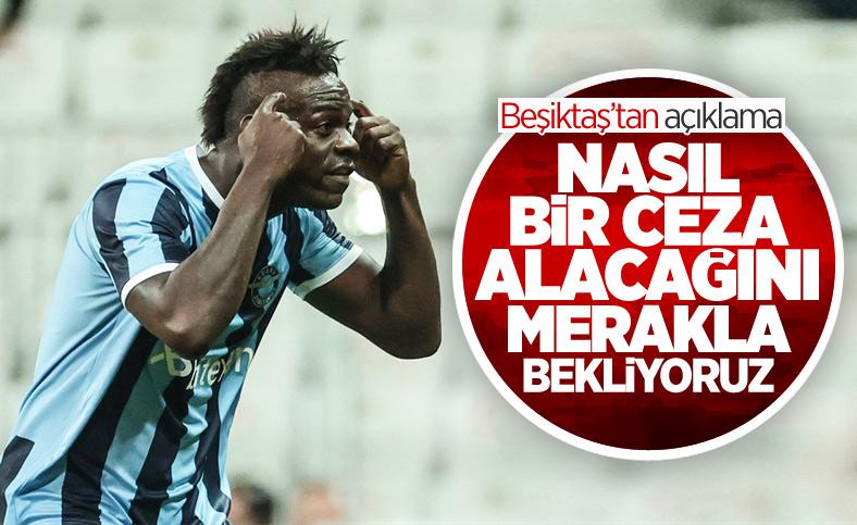 Beşiktaş'tan Balotelli'yle ilgili açıklama