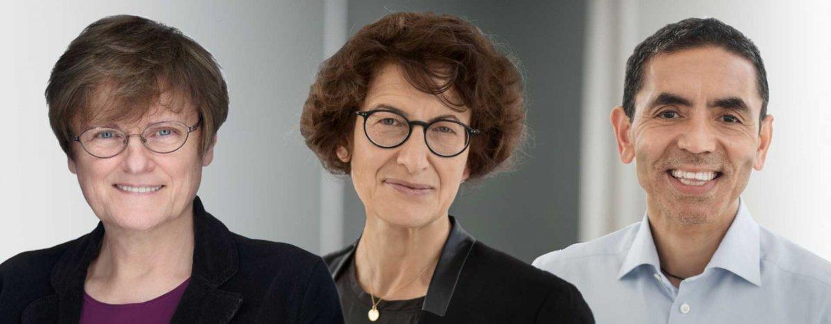 Uğur Şahin ve Özlem Türeci, Almanya nın en prestijli bilim ödülüne layık görüldü #1