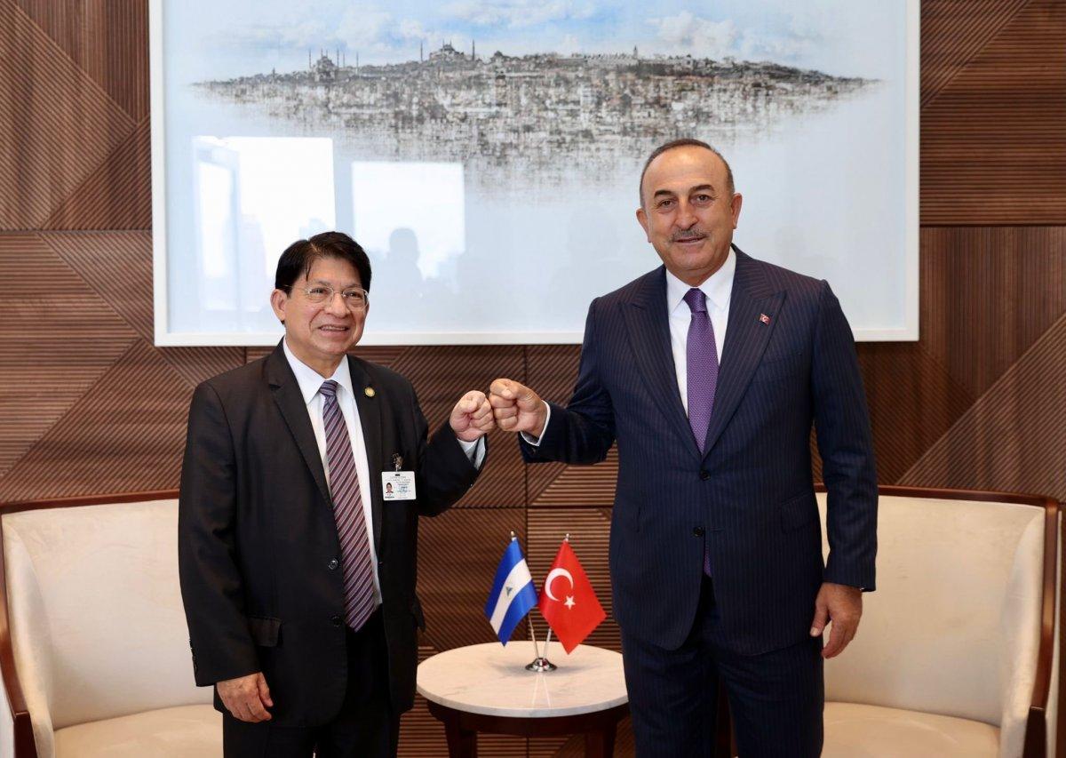 Mevlüt Çavuşoğlu ABD de mevkidaşları ile görüştü #2