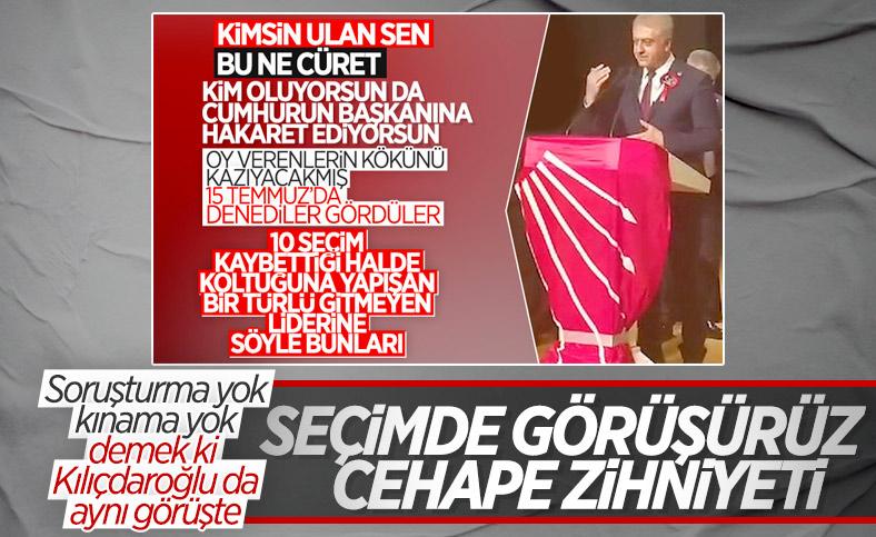 CHP, Cemal Emir'in AK Partilileri tehdit etmesine sessiz kaldı