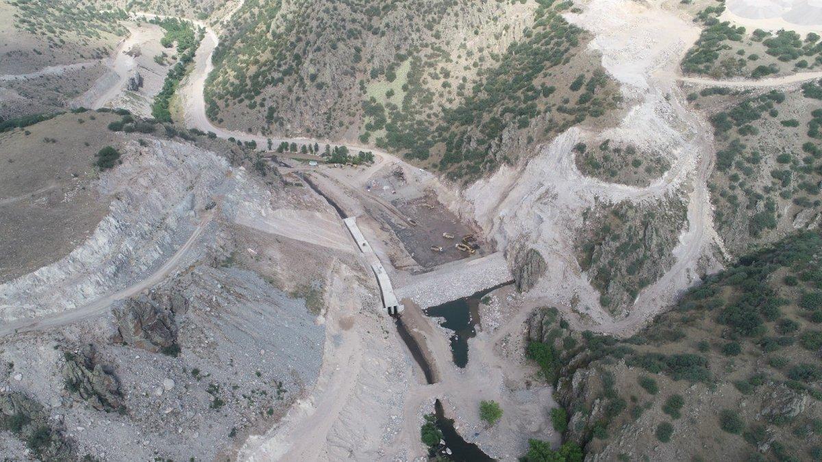 Devrez Kızlaryolu Barajı ekonomiye yılda 100 milyon lira katkı verecek #1