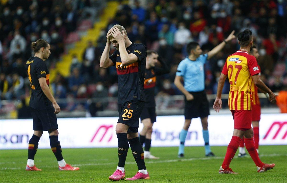 Galatasaray, Kayserispor dan 3 yedi #2