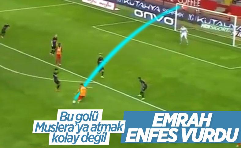 Emrah Başsan'dan klas gol