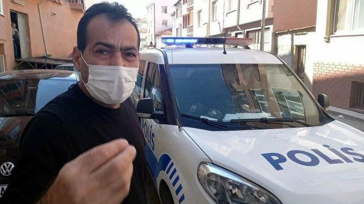 Edirne de karantinayı ihlal eden adam doktorla tartıştı #1