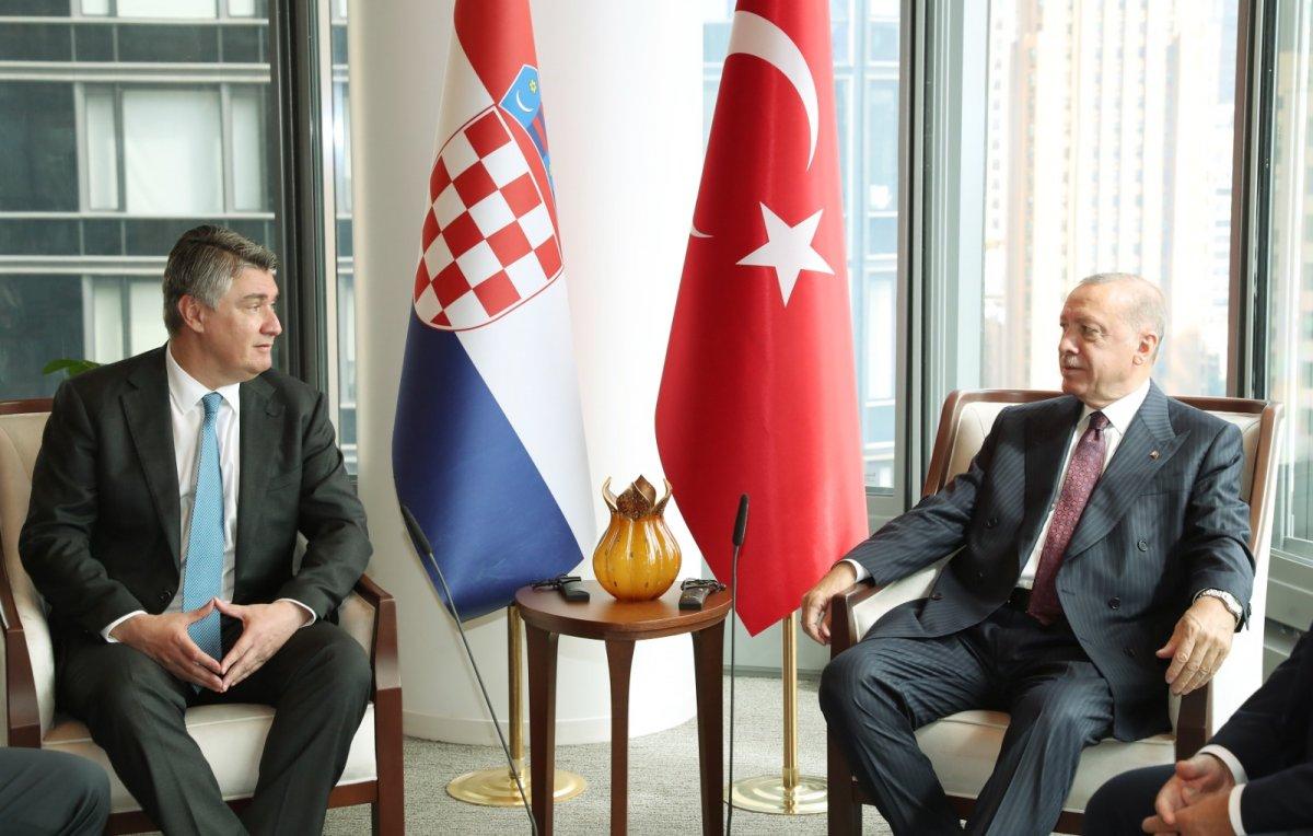 Cumhurbaşkanı Erdoğan ABD de liderlerle görüştü #1