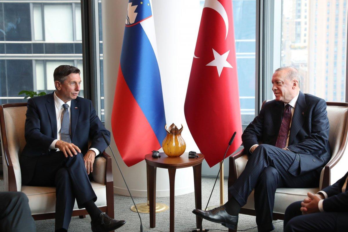 Cumhurbaşkanı Erdoğan ABD de liderlerle görüştü #3