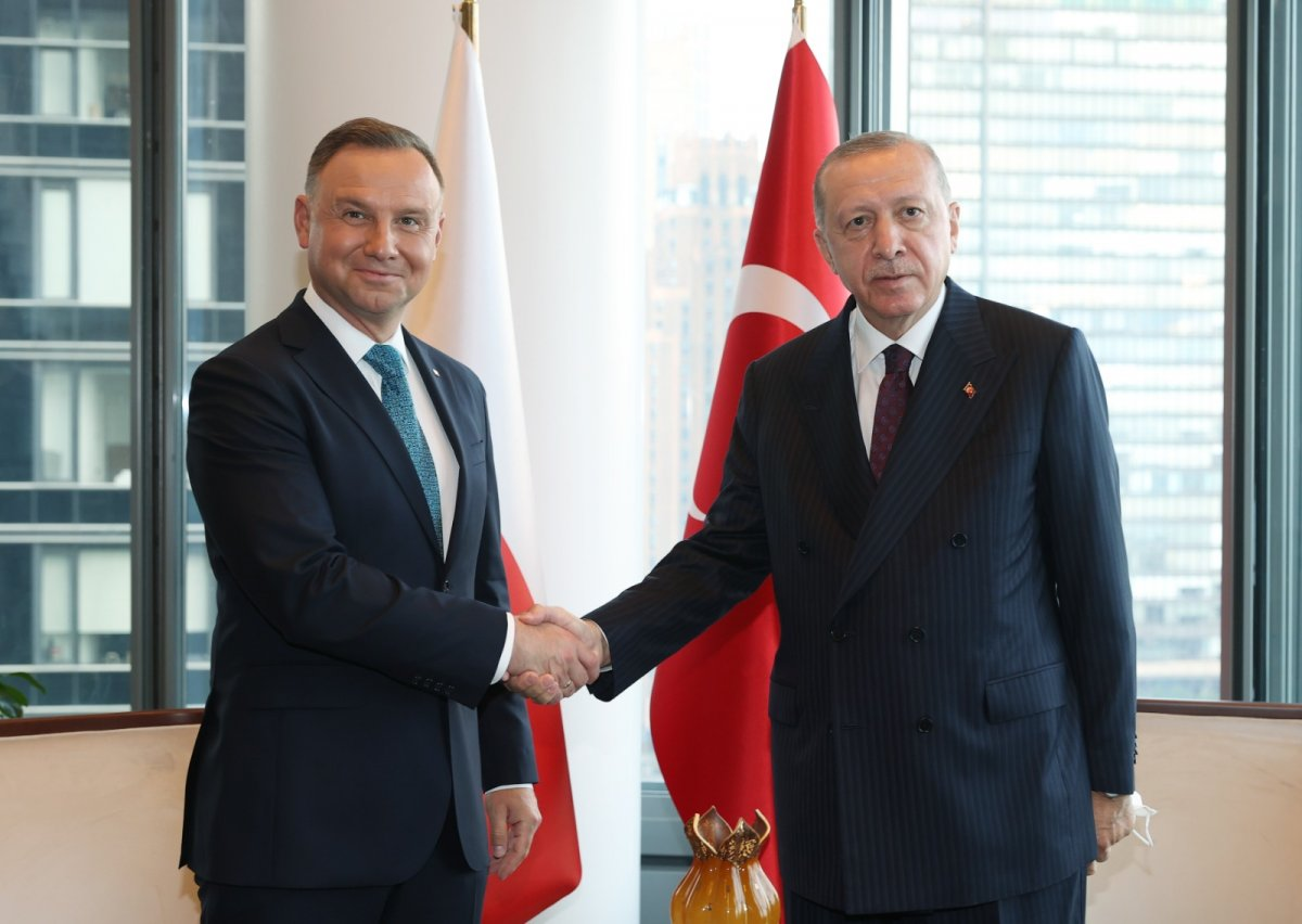 Cumhurbaşkanı Erdoğan ABD de liderlerle görüştü #2