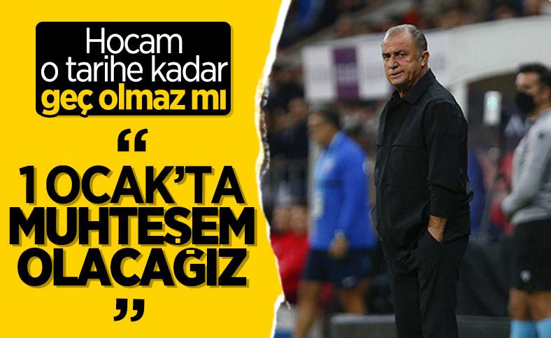 Fatih Terim'den Kayserispor maçı sonrası açıklamalar
