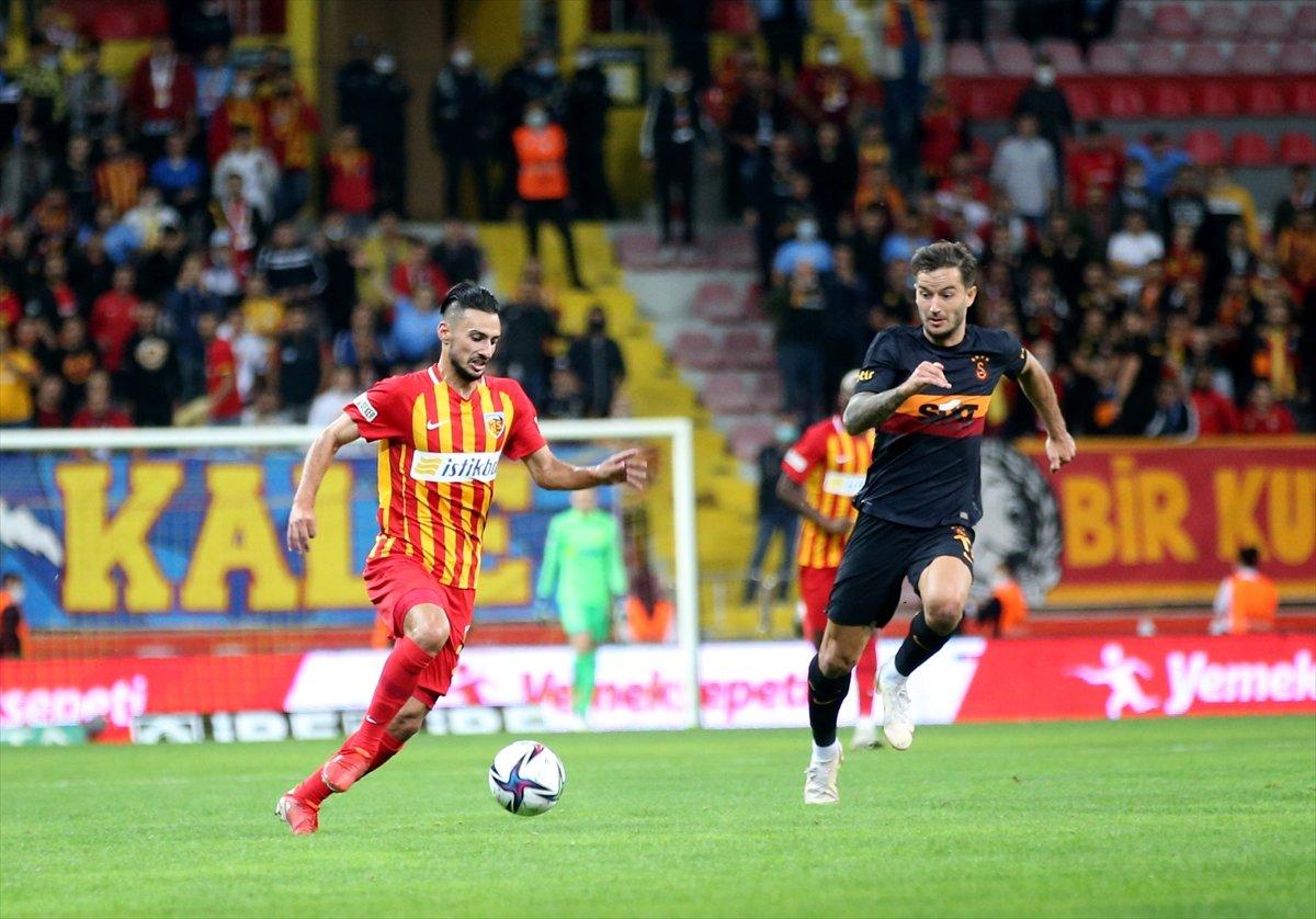 Galatasaray, Kayserispor dan 3 yedi #1