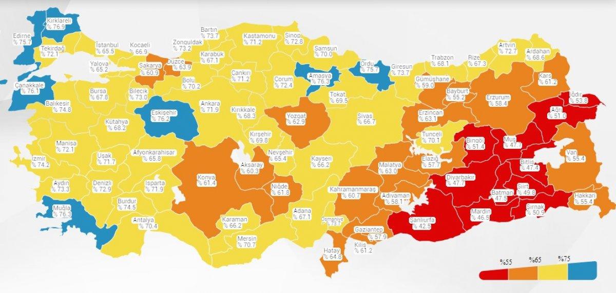 Fahrettin Koca: Harita maviye dönmeli #1