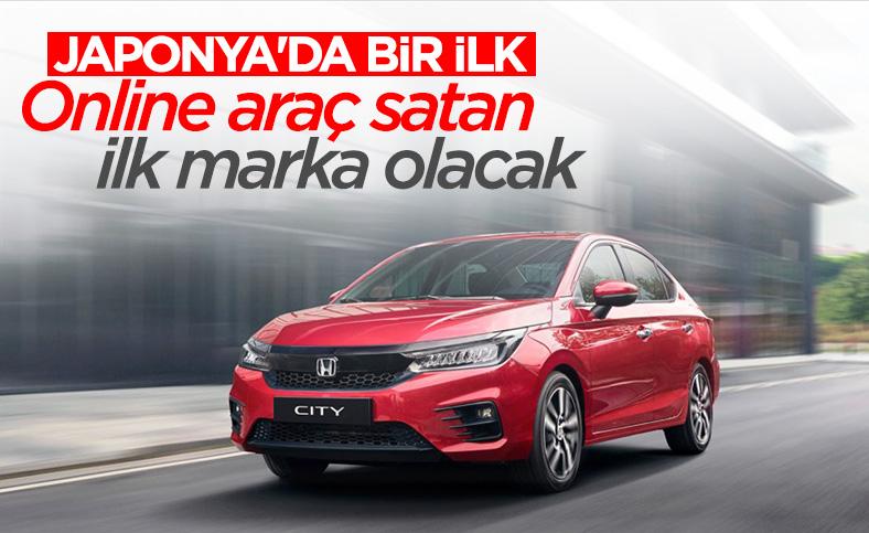 Honda, Japonya'da online araç satan ilk firma olacak
