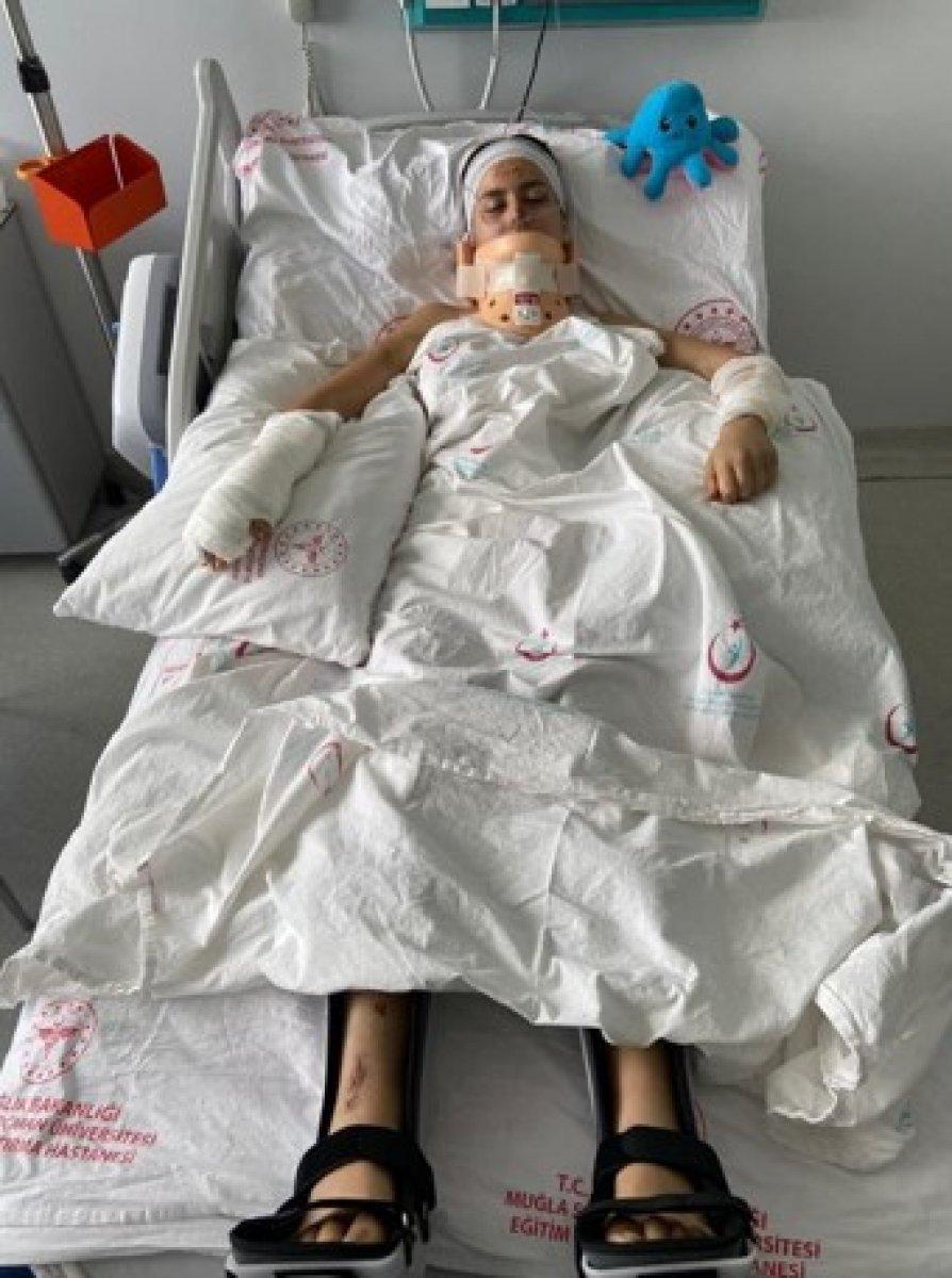 Bodrum'da genç kıza çarpıp felç olmasına neden olan ABD'li serbest kaldı #1