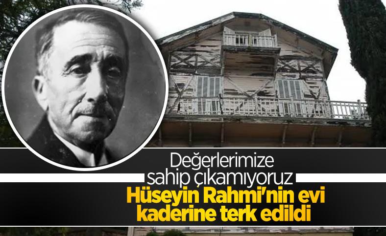 Hüseyin Rahmi Gürpınar'ın Heybeliada'daki evi çürüyor