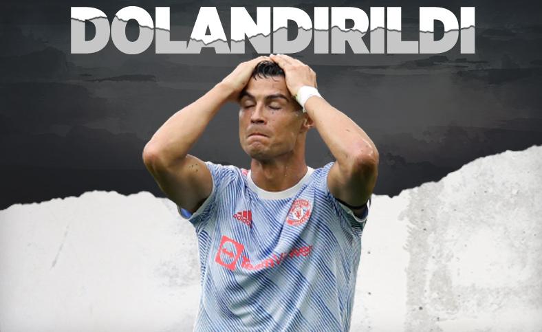 Cristiano Ronaldo dolandırıldı