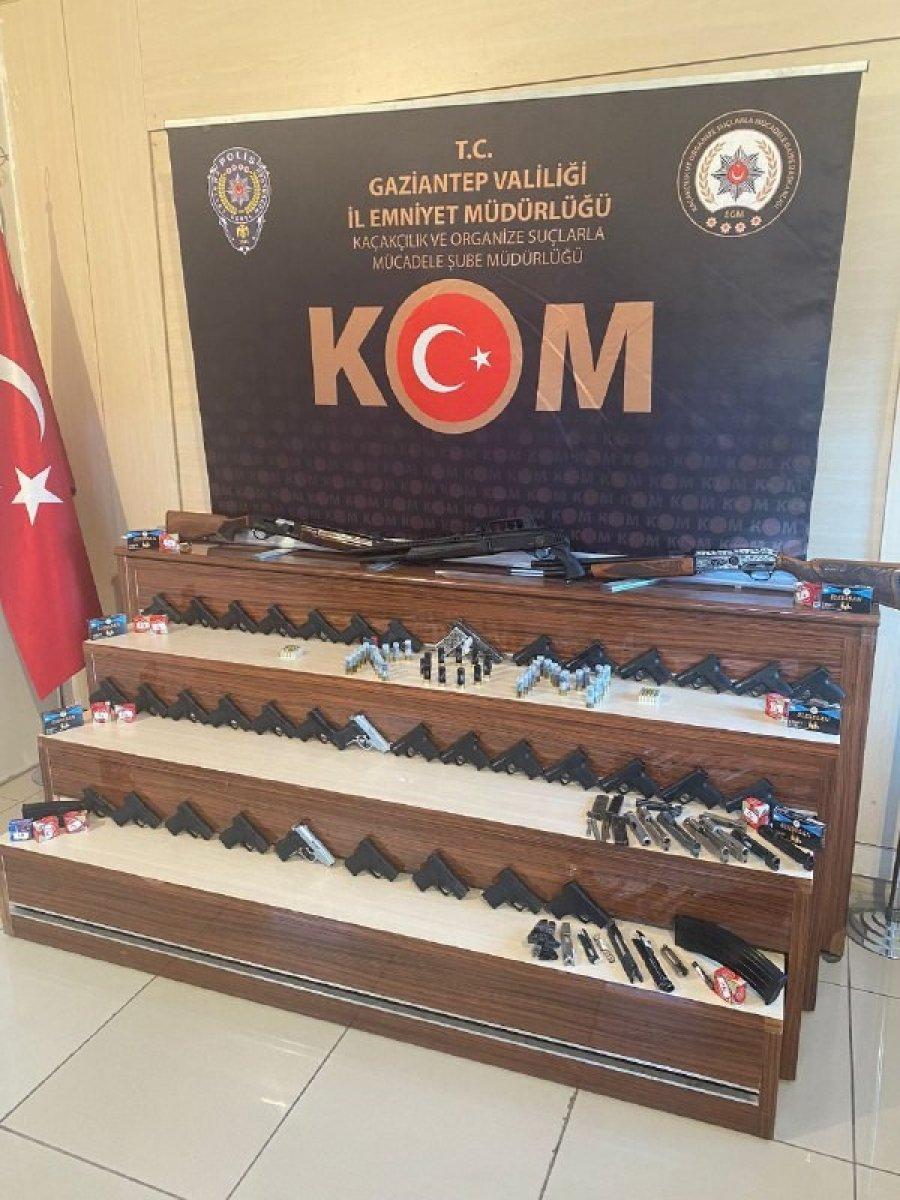 Gaziantep ve Kilis'te, silah kaçakçılarına operasyon #5