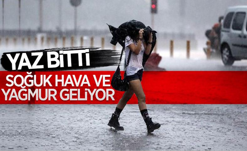 Türkiye soğuk ve yağışlı havanın etkisi altında