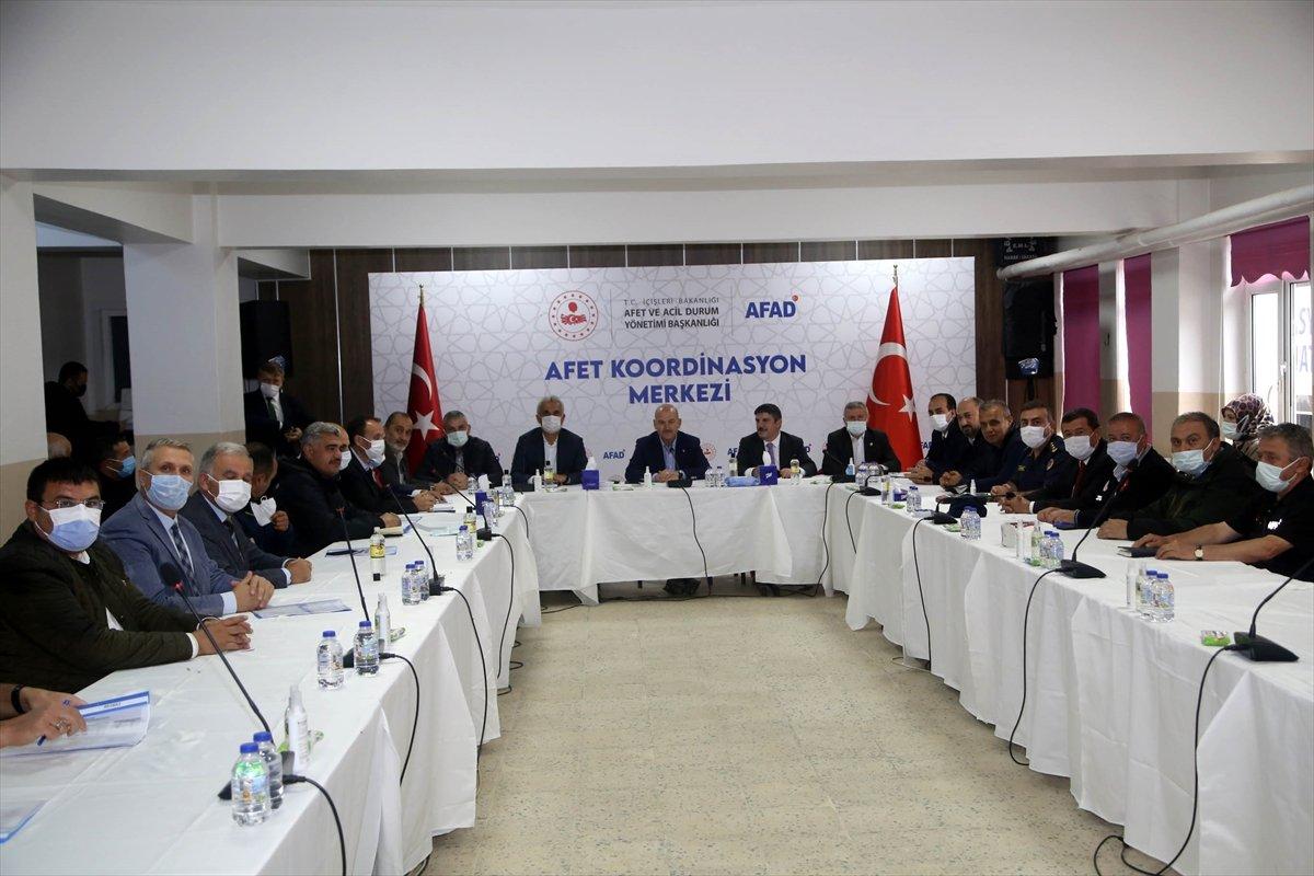 İçişleri Bakanı Süleyman Soylu, Kastamonu'daki çalışmaları inceledi #6