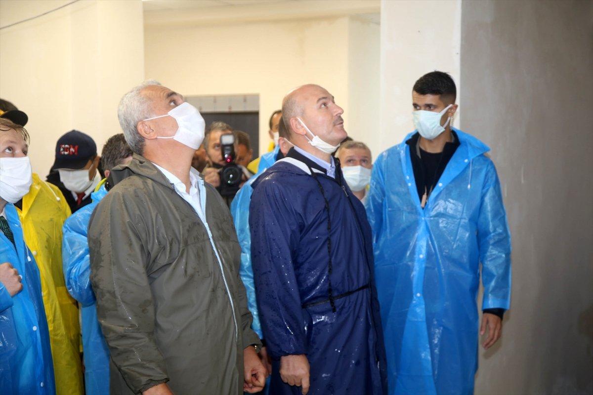 İçişleri Bakanı Süleyman Soylu, Kastamonu'daki çalışmaları inceledi #9