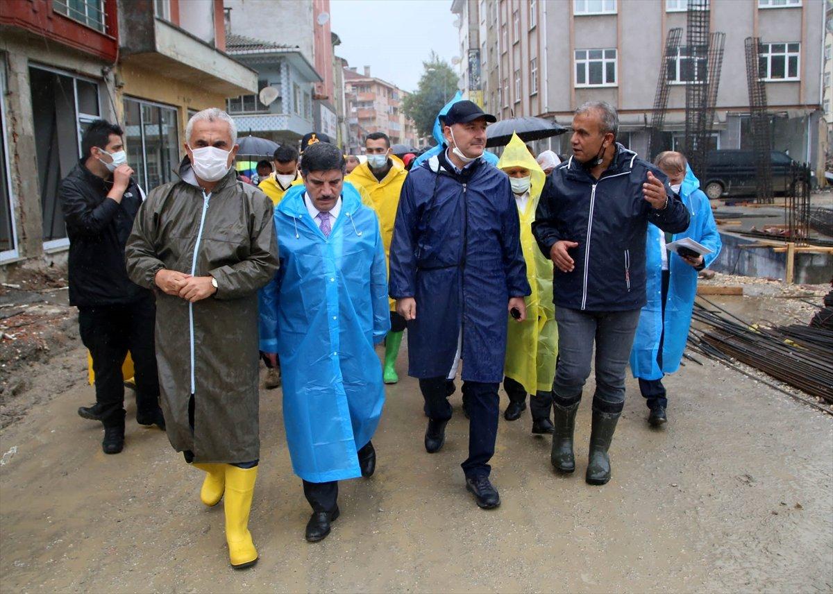 İçişleri Bakanı Süleyman Soylu, Kastamonu'daki çalışmaları inceledi #4