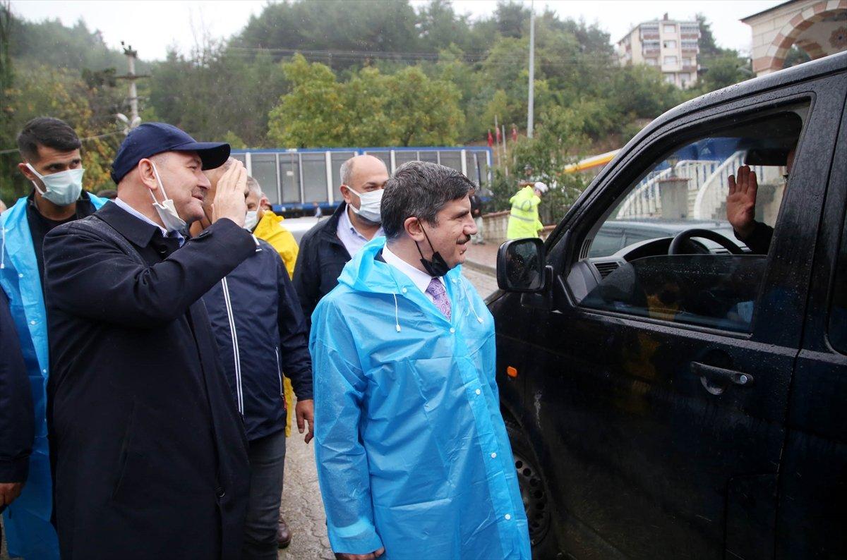 İçişleri Bakanı Süleyman Soylu, Kastamonu'daki çalışmaları inceledi #2