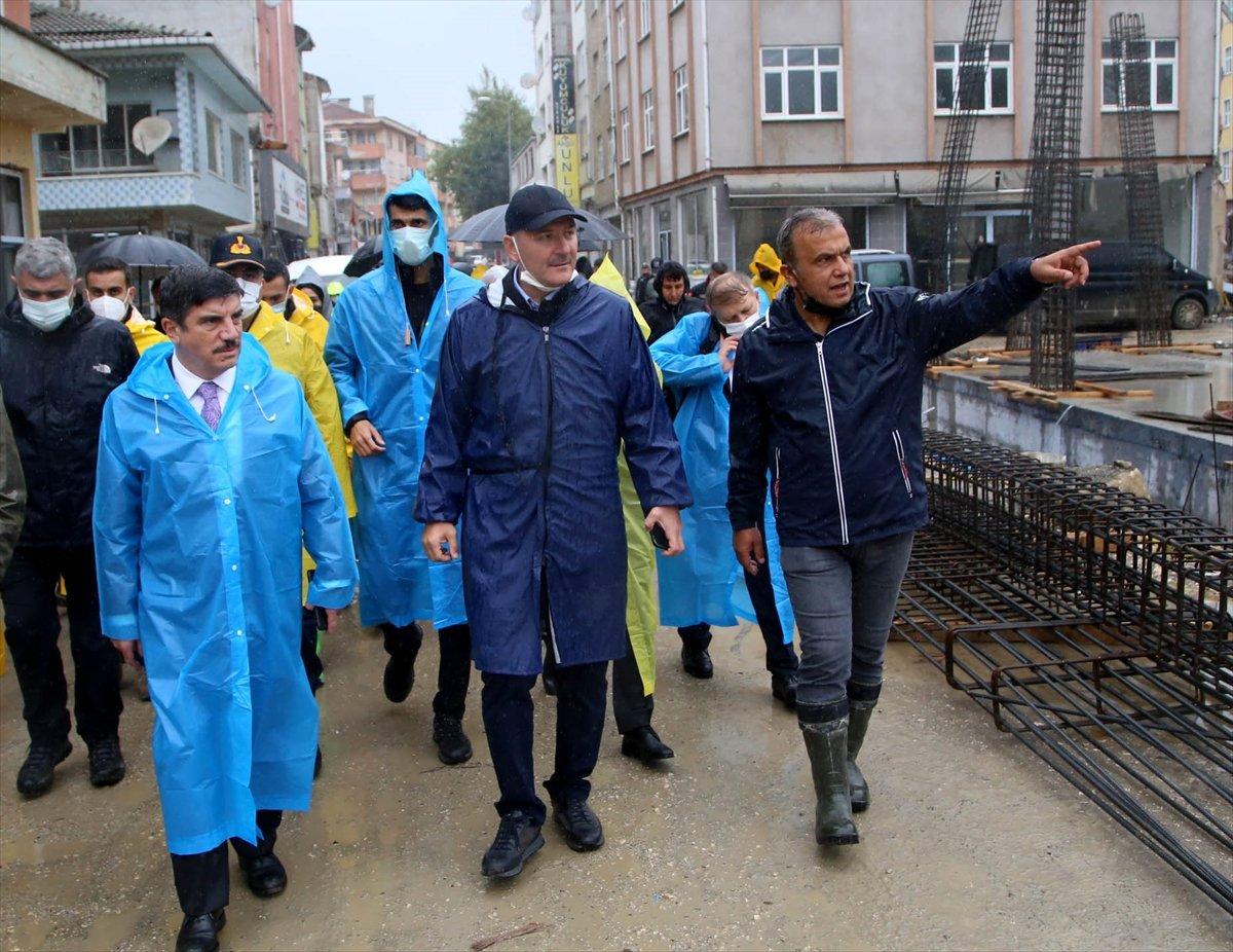 İçişleri Bakanı Süleyman Soylu, Kastamonu'daki çalışmaları inceledi #5