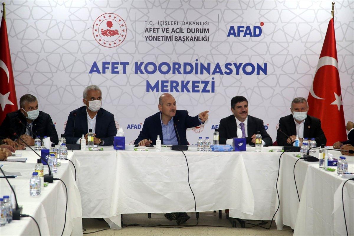 İçişleri Bakanı Süleyman Soylu, Kastamonu'daki çalışmaları inceledi #8
