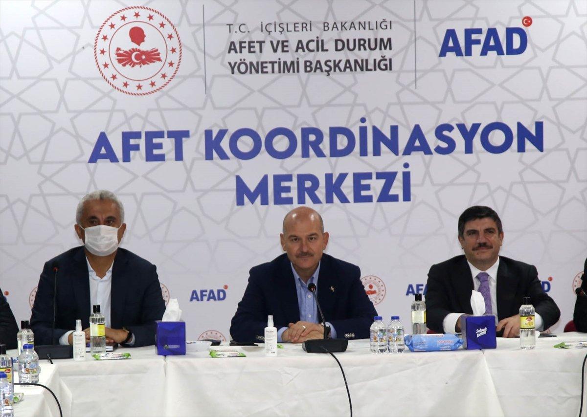 İçişleri Bakanı Süleyman Soylu, Kastamonu'daki çalışmaları inceledi #7