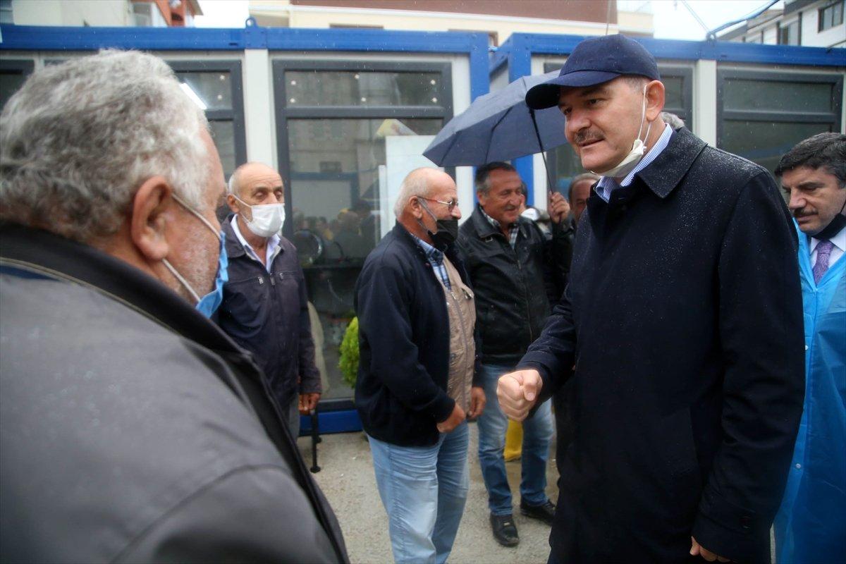 İçişleri Bakanı Süleyman Soylu, Kastamonu'daki çalışmaları inceledi #3