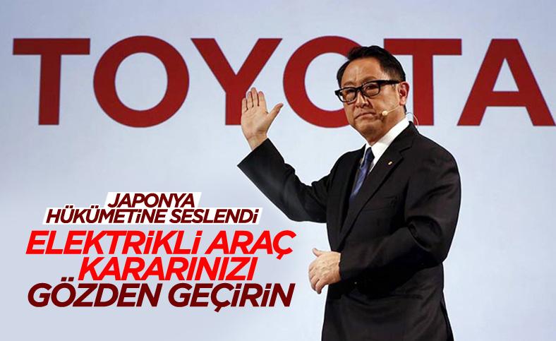 Toyota: Elektrikli araçlar milyonlarca iş kaybına neden olacak