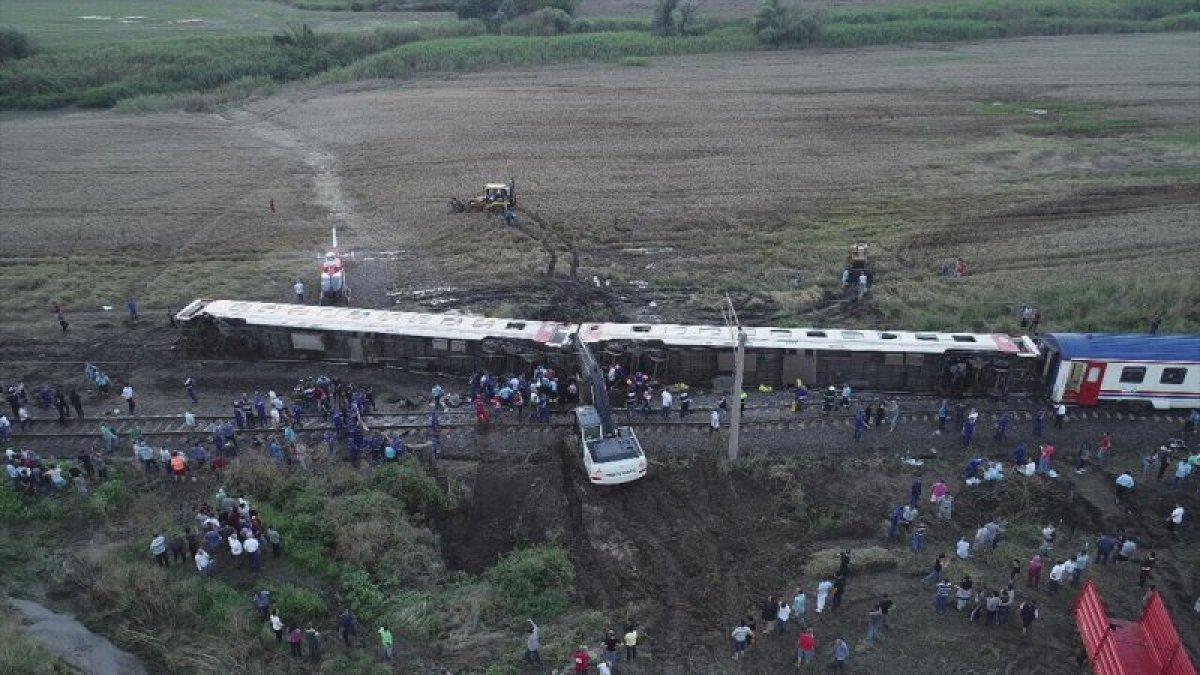Çorlu daki tren kazasında yaralanan 3 yolcuya rekor tazminat #3