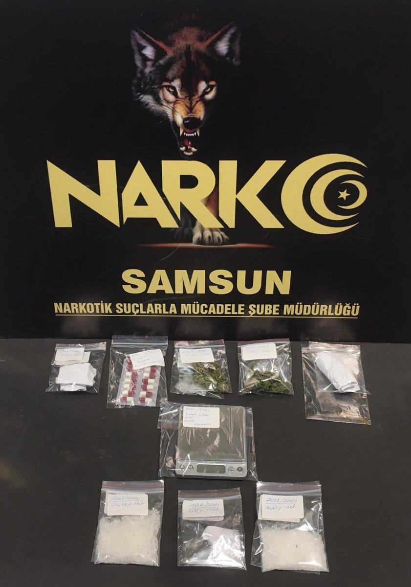 Samsun da bir kişi uyuşturucu operasyonu sonucunda tutuklandı #1