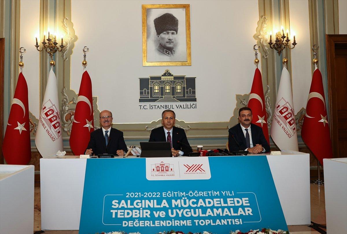 İstanbul da 2021-2022 öğretimine ilişkin tedbir toplantısı yapıldı #1