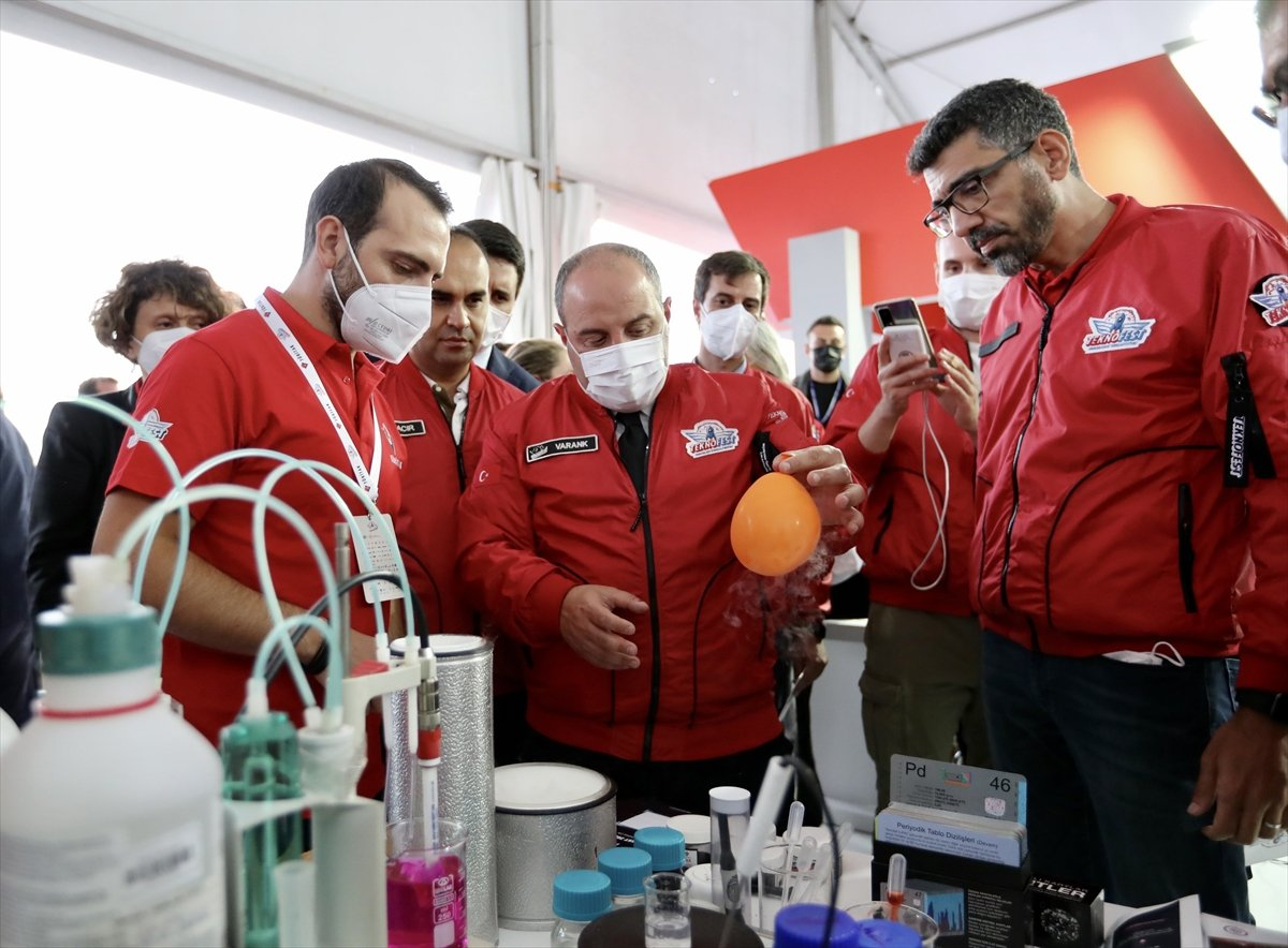 Sanayi ve Teknoloji Bakanı Mustafa Varank TEKNOFEST te  #5