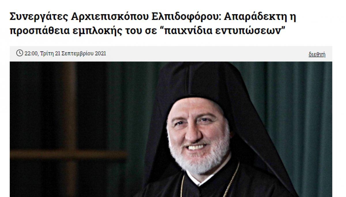 Elpidoforos un Türkevi açılışına katılması Rumları sinirlendirdi  #3