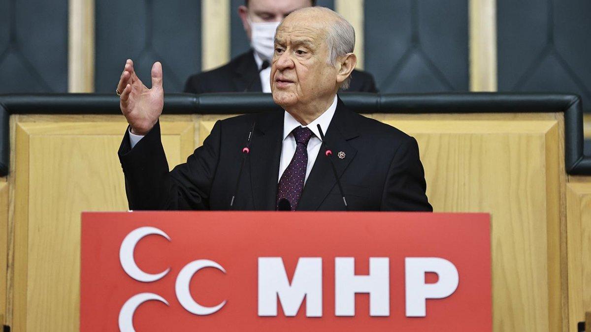 Devlet Bahçeli: HDP'yi meşru görmek Anayasa Mahkemesi üzerinde baskı kurmaktır #1