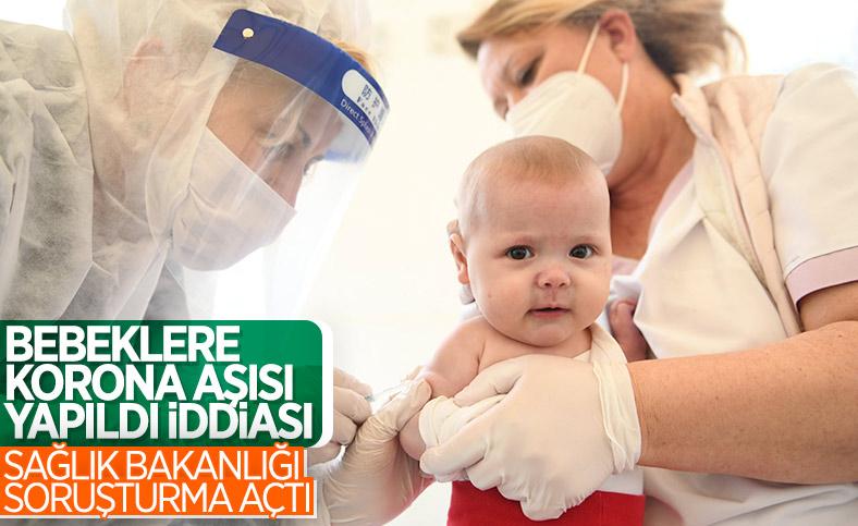 Bebeklere yanlış aşı yapıldı iddialarına soruşturma başlatıldı
