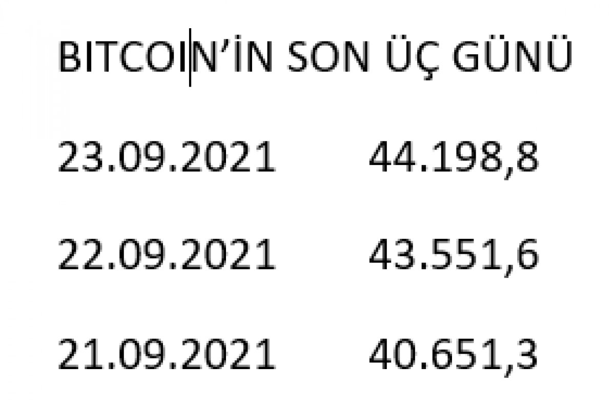 Bitcoin 44 bin 198 dolara yükseldi #2