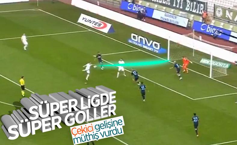 Endri Çekiçi'den klas gol