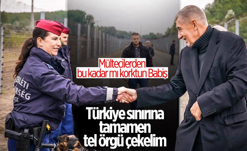 Çekya Başbakanı Babiş: Bulgaristan-Türkiye sınırına tel örgü çekilmeli