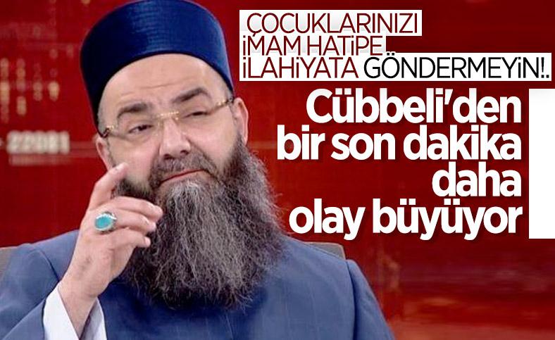 Cübbeli Ahmet'ten imam hatip tepkilerine ilk cevap