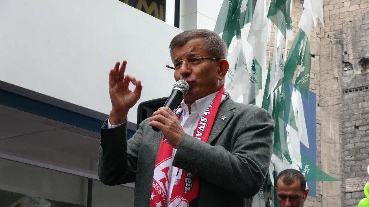 Ahmet Davutoğlu, Sivas ta boş meydana konuştu #4