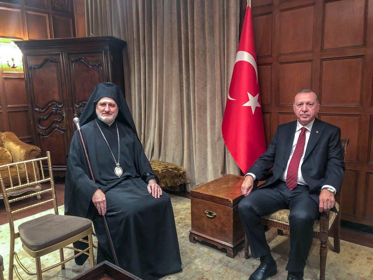Elpidoforos un Türkevi açılışına katılması Rumları sinirlendirdi  #6