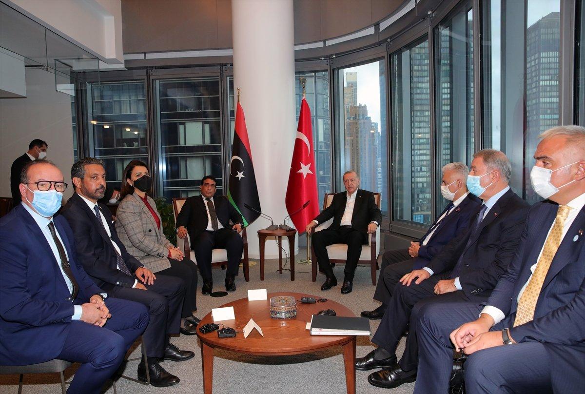 Cumhurbaşkanı Erdoğan, el-Menfi ile görüştü #2