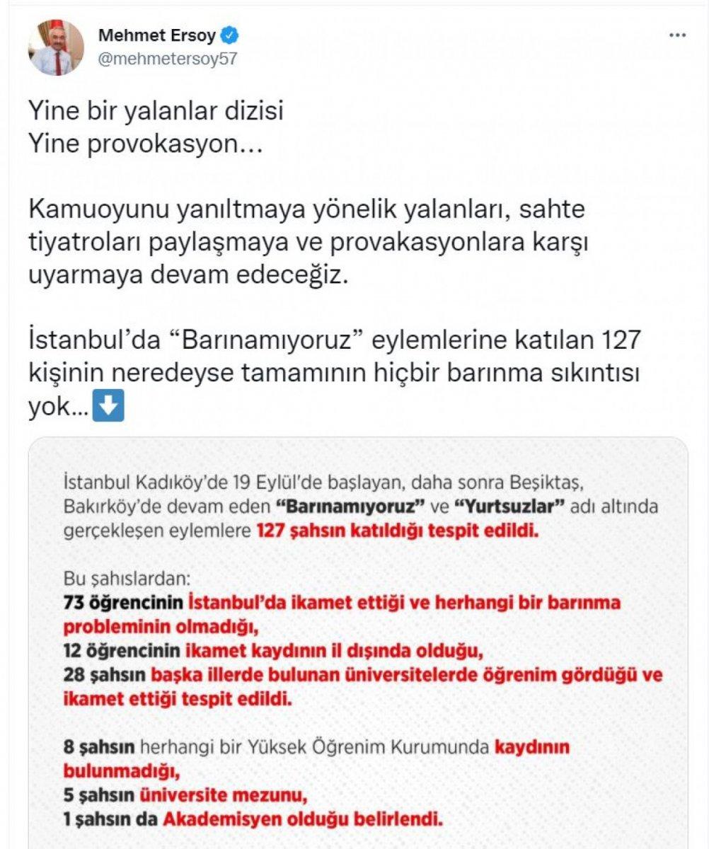 İstanbul da barınamıyoruz eylemcileri hakkındaki gerçekler #2