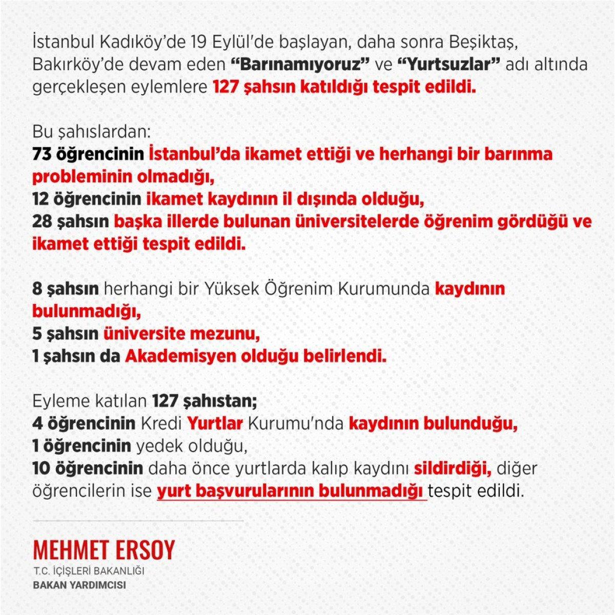 İstanbul da barınamıyoruz eylemcileri hakkındaki gerçekler #3