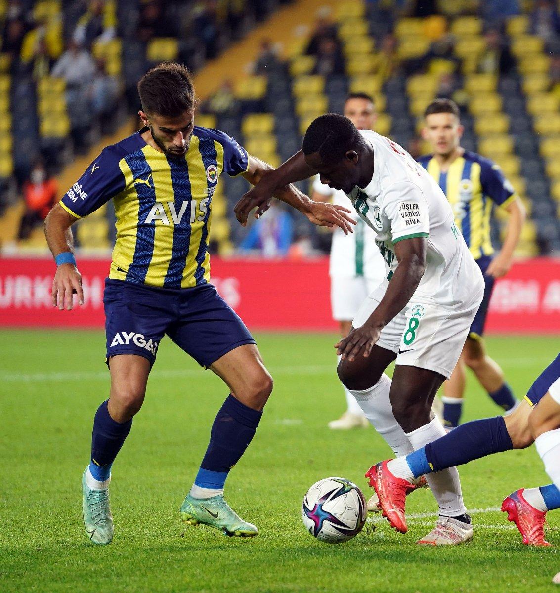 Fenerbahçe, Giresunspor u 2 golle geçti #4
