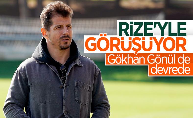 Rizespor, Emre Belözoğlu ile görüşüyor