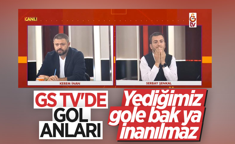 GS TV'de yenilen gol anları